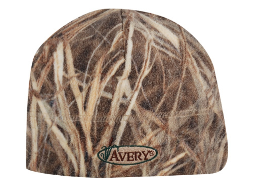 Avery Windproof Skull Cap Fleece KW-1 Camo