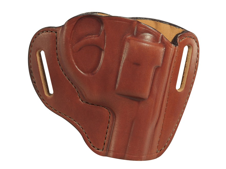 Bianchi 57 Remedy Outside the Waistband Holster Ruger LCR Leather