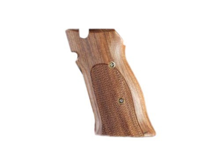 Hogue Fancy Hardwood Grips S&W 41 Checkered