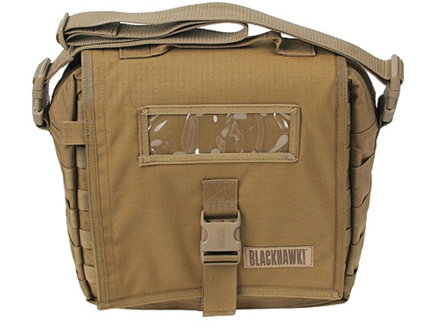 BLACKHAWK! Enhanced Battle Bag with Webbing Nylon Coyote Tan