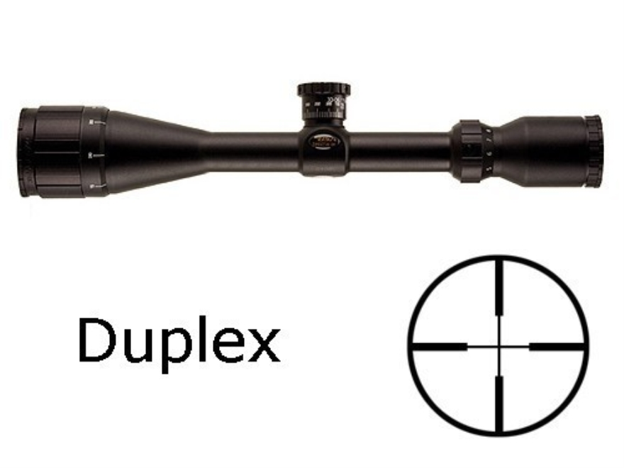 BSA Sweet 243 Big Game Rifle Scope 3-10x 44mm Adjustable Objective Duplex Reticle Matte