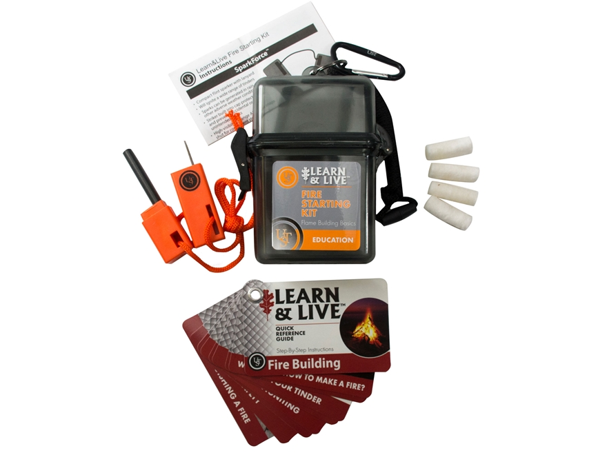 UST Learn & Live Survival Kit Fire Starting