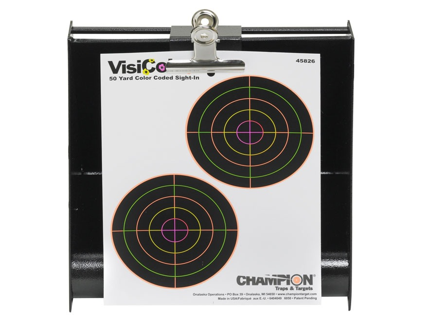 Champion Rimfire Bullet Trap Steel Black