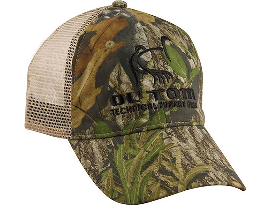 Ol' Tom Mesh Back Camo Cap Nylon and Polyester