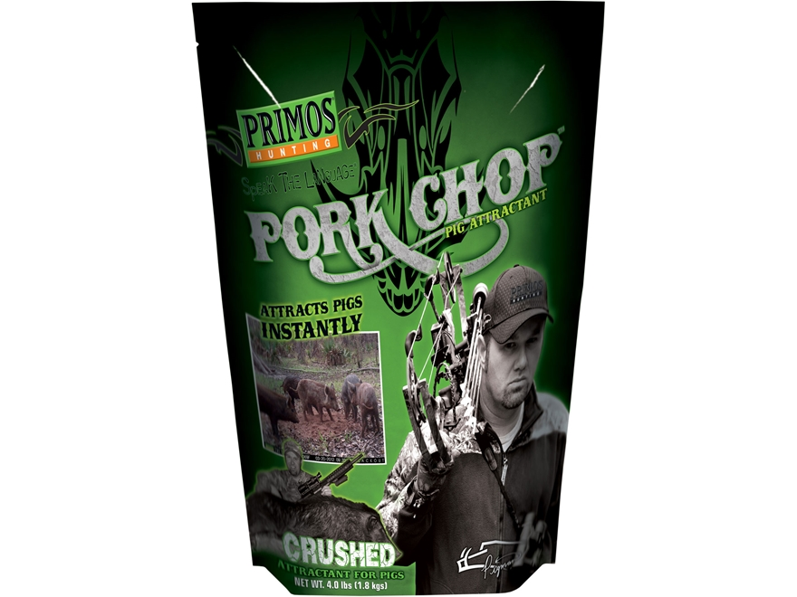 Primos Pork Chop Hog Attractant Powder 4 lb Bag