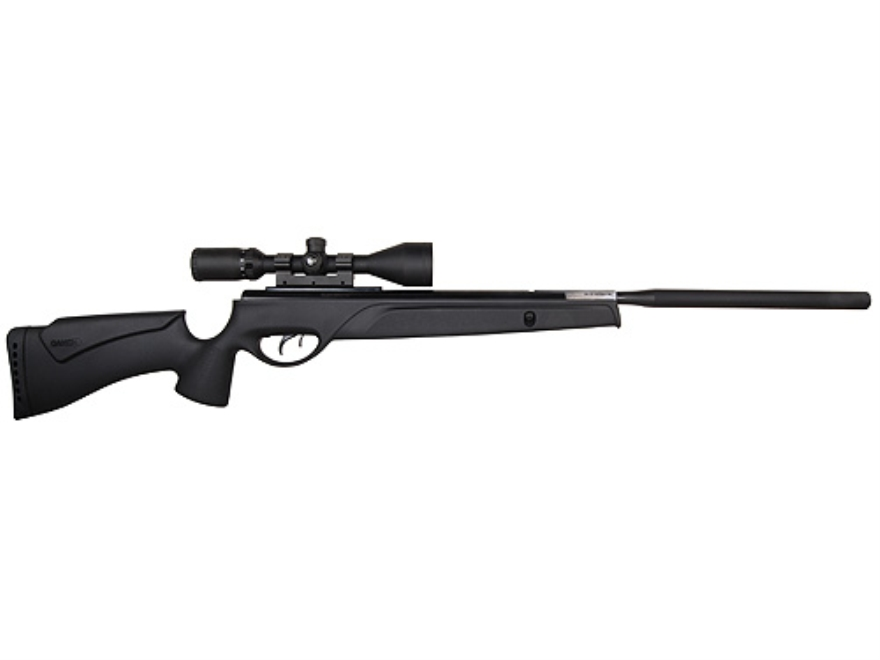 Gamo SOCOM Extreme Air Rifle 25 Caliber Black Synthetic Stock Blue Barrel with Gamo Air...
