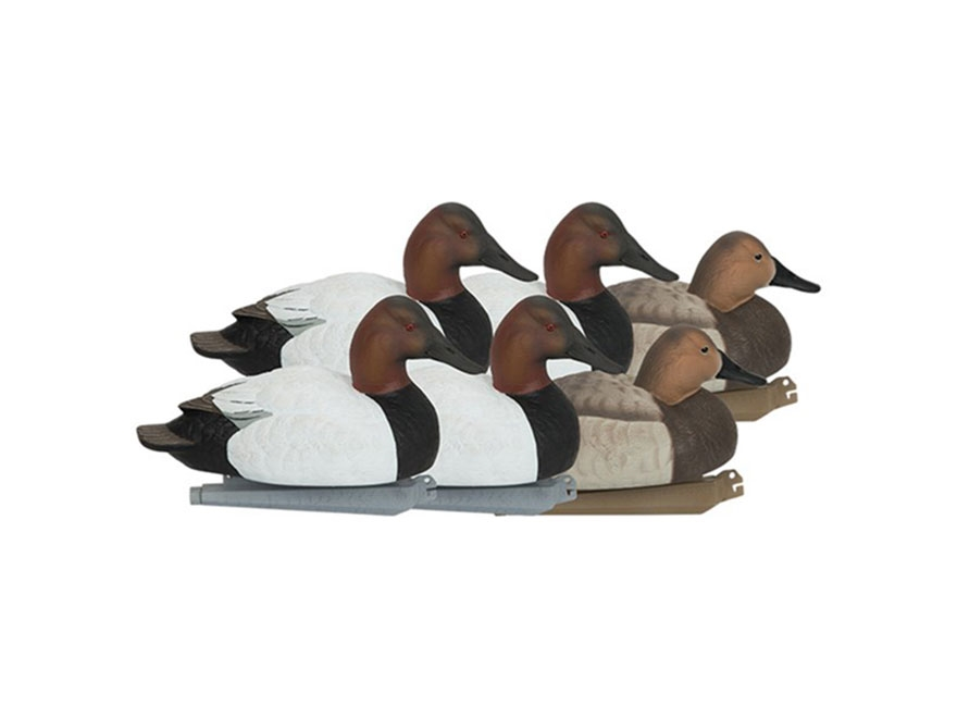 GHG Pro-Grade Canvasback Duck Decoy Pack of 6