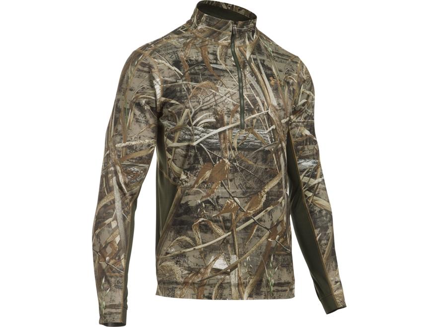 Under Armour Men's UA NLS Fleece 1/4 Zip Shirt Long Sleeve Polyester