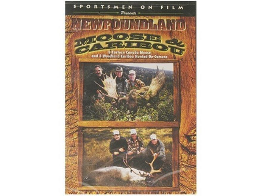 """Sportsmen on Film Video """"Newfoundland Moose & Caribou"""" DVD"""