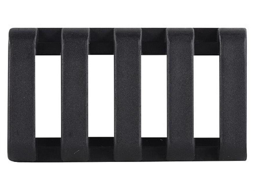 "Yankee Hill Machine Low Profile Picatinny Rail Cover 1-3/4"" Polymer Black"