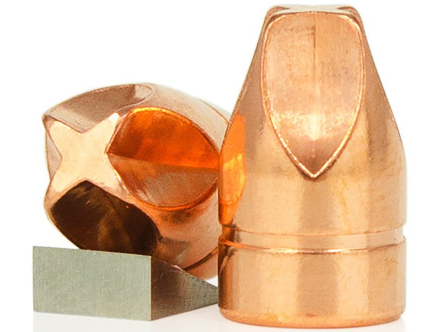 Lehigh Defense Xtreme Defense Bullets 9mm (355 Diameter) 90 Grain Solid Copper Fluid Tr...