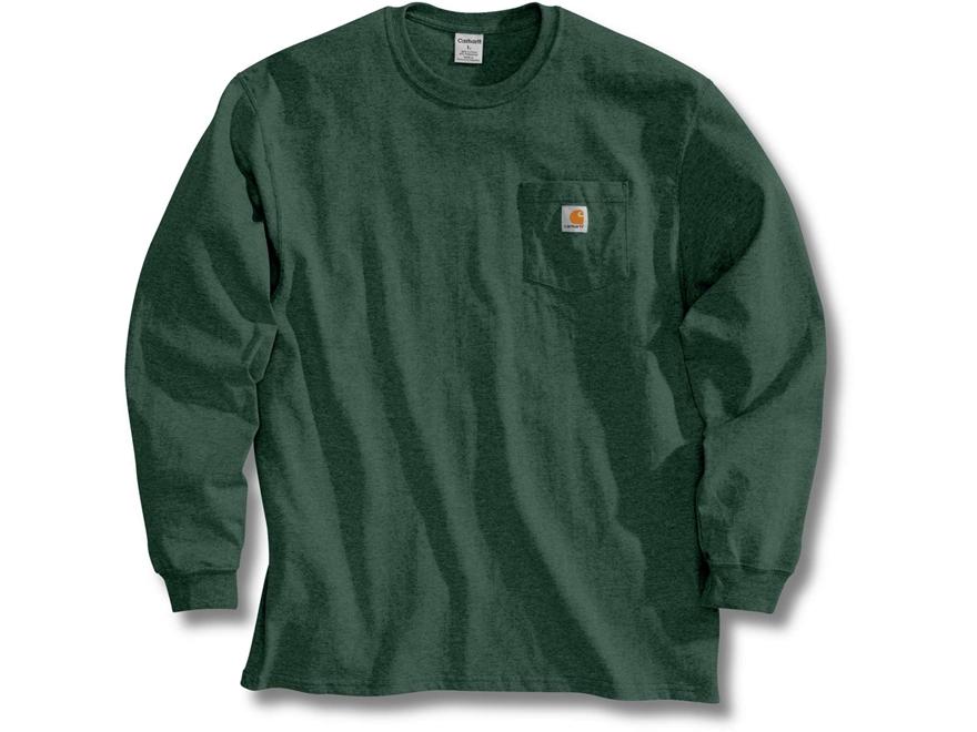 Carhartt Men's Workwear Pocket T-Shirt Long Sleeve Cotton