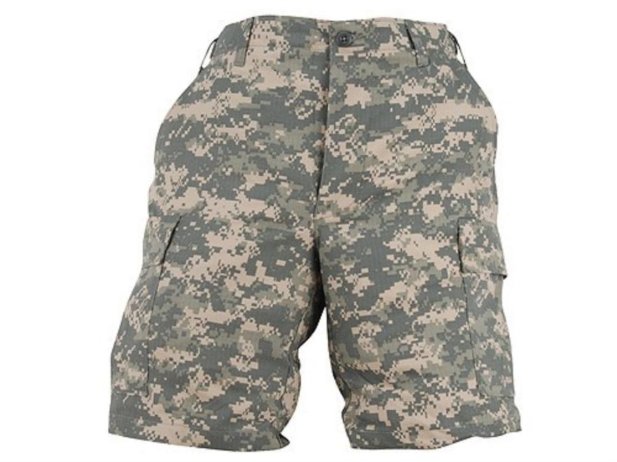 Tru-Spec BDU Shorts 100% Cotton Ripstop ACU Digital Camo Medium (Waist 31-35)
