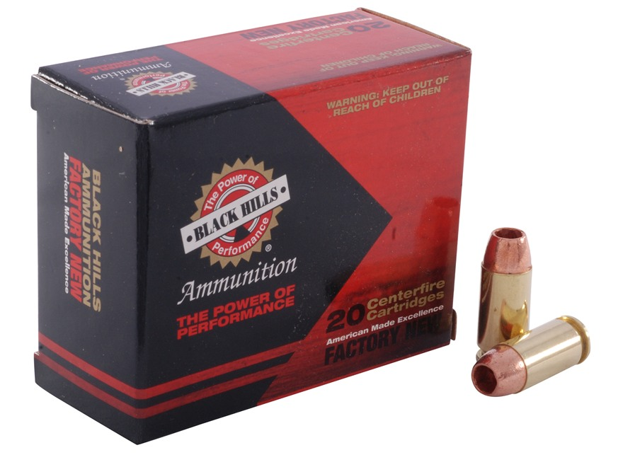 Black Hills Ammunition 40 S&W 140 Grain Barnes TAC-XP Hollow Point Lead-Free Box of 20