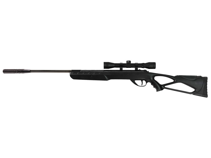 Umarex Surge Break Barrel Air Rifle 177 Caliber Pellet Black Polymer Stock Blued Barrel...