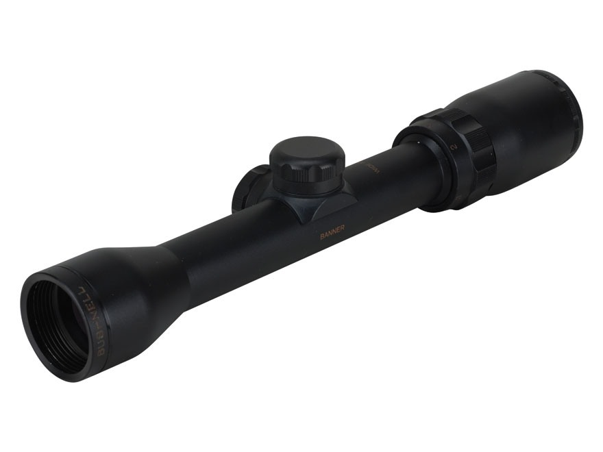 Bushnell Banner Rifle Scope 1.5-4.5x 32mm Wide Angle Multi-X Reticle Matte