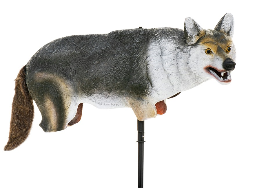 "Lucky Duck ""Yote"" Coyote Decoy Polymer"