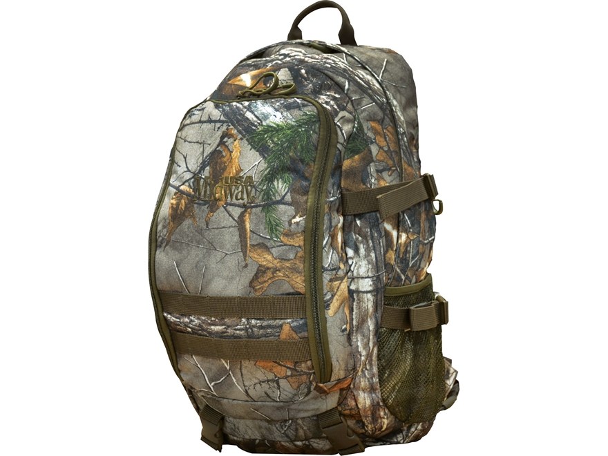 MidwayUSA Treestand Hunting Backpack Realtree Xtra Camo