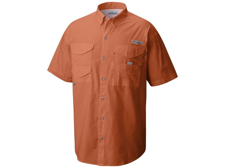 Columbia Men's PFG Bonehead Button-Up Shirt Short Sleeve Cotton