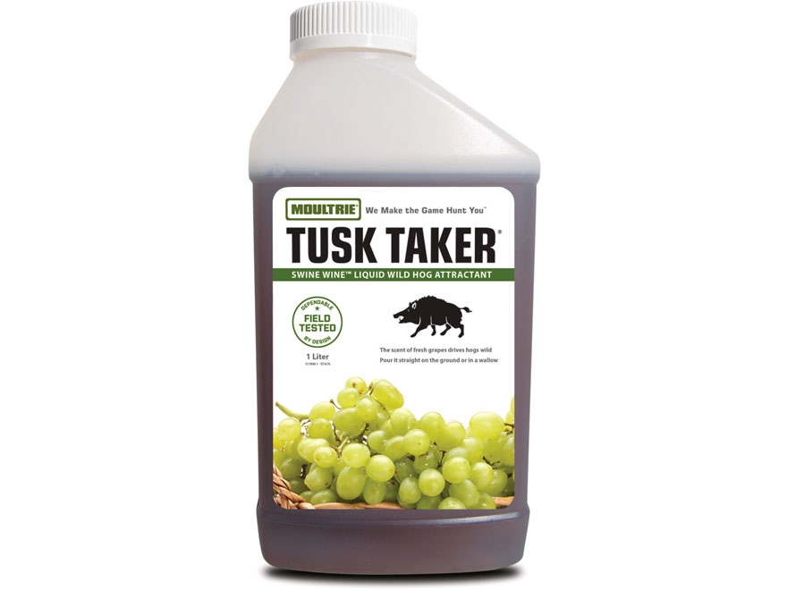 Moultrie Tusk Taker Swine Wine Hog Attractant 1 Liter