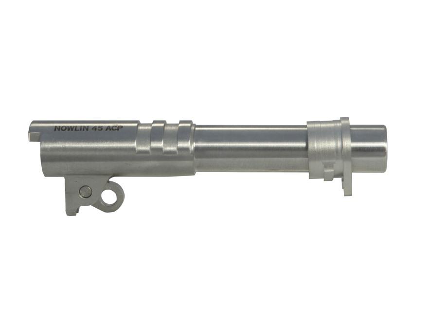 """Nowlin Prefit Barrel Kit 1911 Commander 45 ACP 4.25"""" Stainless Steel"""