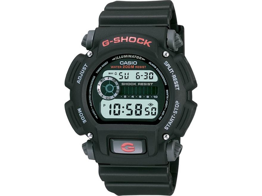 Casio G-Shock Multi-Function Digital Watch Resin Band Black