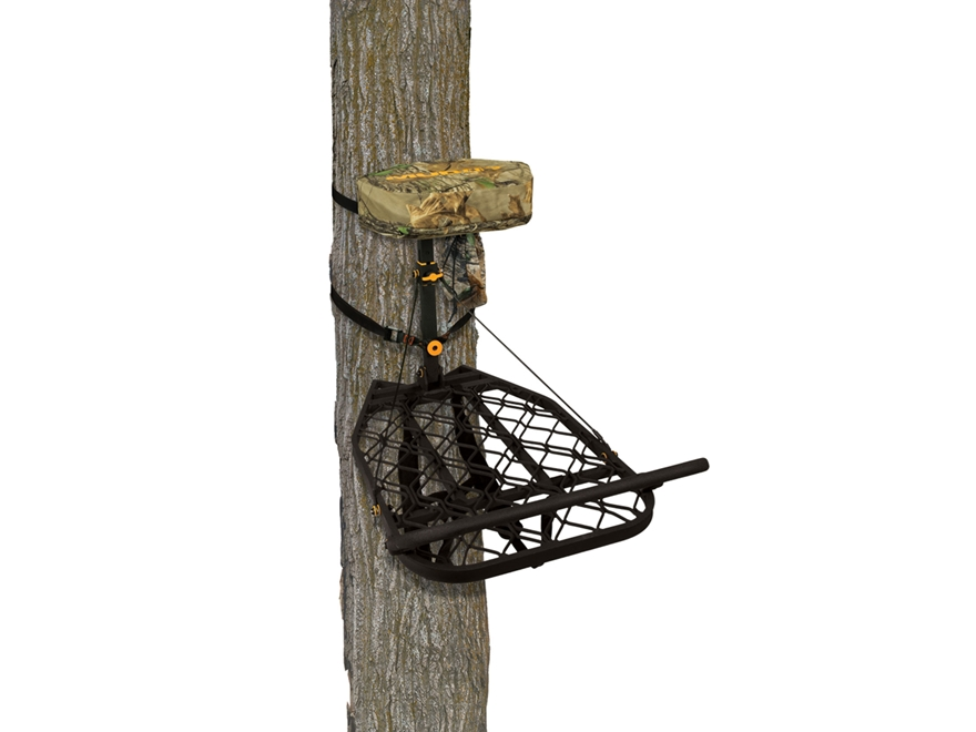 Muddy Outdoors Vantage Point Hang on Treestand Aluminum Black
