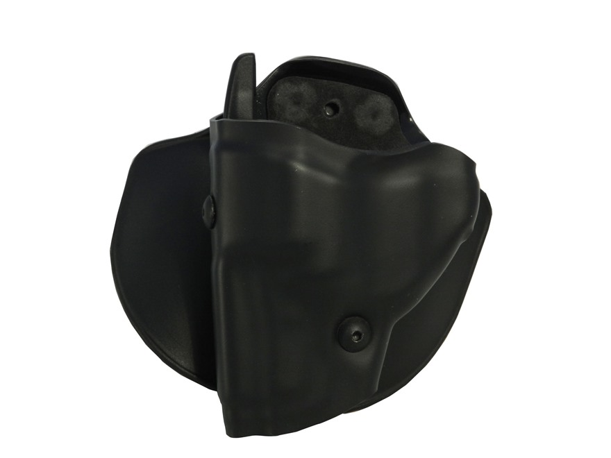 Safariland 6378 ALS Paddle and Belt Loop Holster Ruger LCR Composite Black