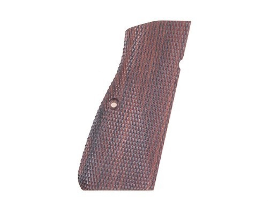 Cylinder & Slide Spegel Grips Browning Hi-Power Checkered Kingwood