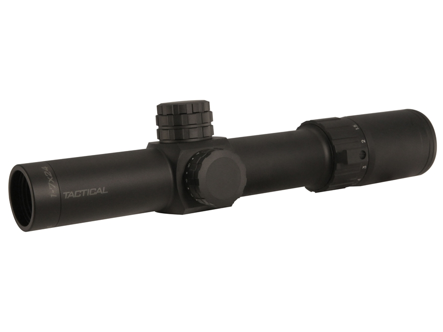 Weaver Tactical 1-7x 24mm Rifle Scope 34mm Tube Dual Focal Plane Illuminated MDR Reticl...
