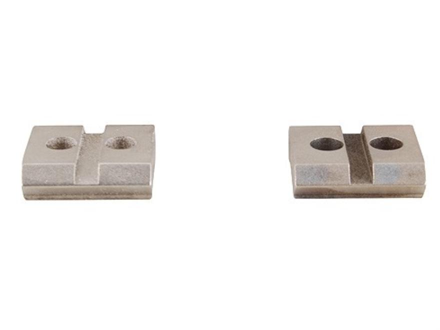 Warne Maxima 2-Piece Steel Weaver-Style Scope Base Steyr Mannlicher L, LS Silver