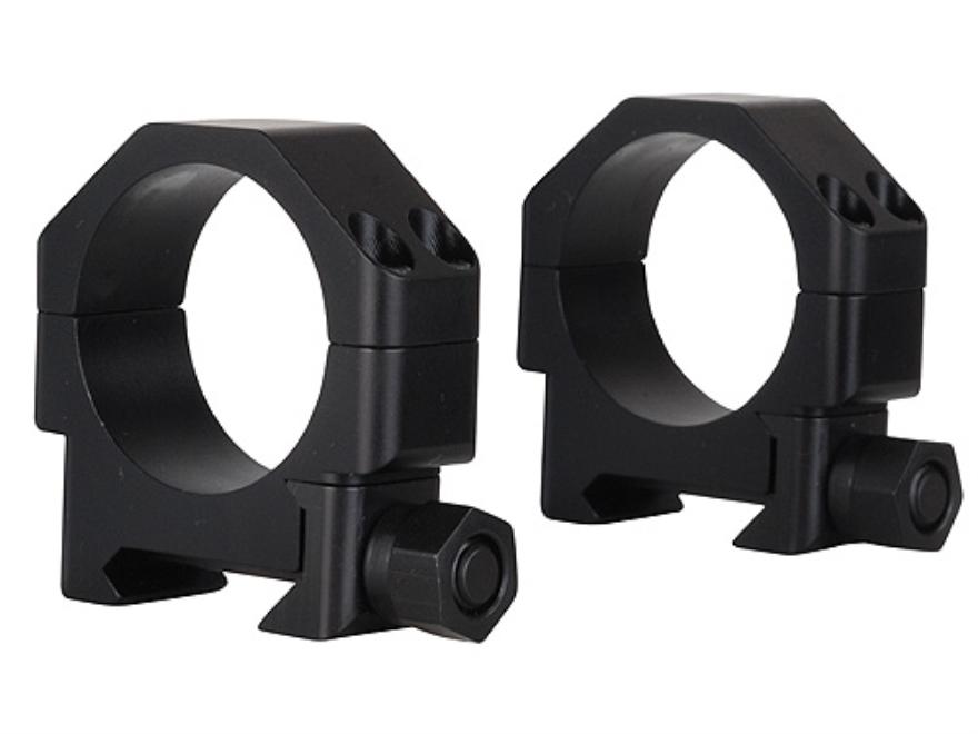 "TPS 30mm TSR ""W-SL"" Weaver-Style Aluminum Rings Matte Super Low"