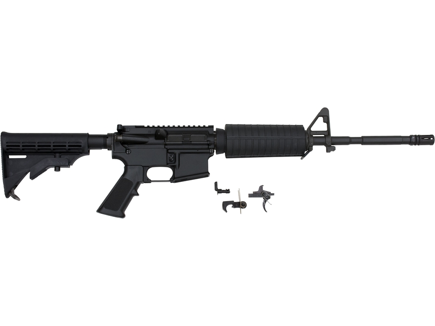 """AR-Stoner Carbine Kit with Complete Upper Assembly AR-15 5.56x45mm NATO 1 in 9"""" Twist 1..."""