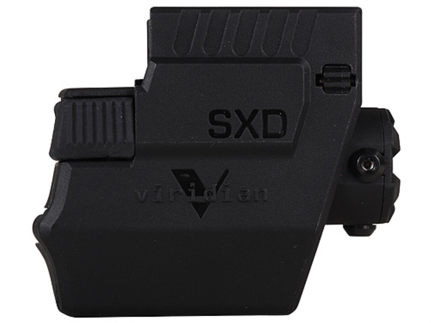 Viridian 5mW Green Laser Sight Springfield XD and XDm (Not Sub-Compact) Matte Includes ...