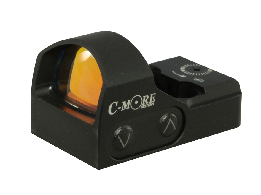 C-More STS2 Red Dot Sight with Click Switch Matte