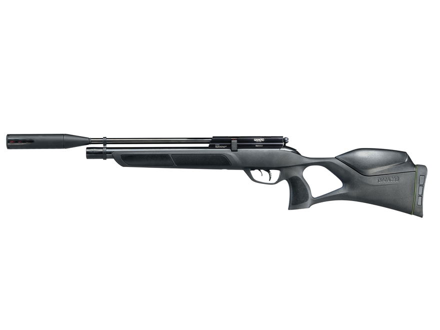 Gamo Urban Whisper Fusion PCP Air Rifle 22 Caliber Pellet Synthetic Stock Blued Barrel