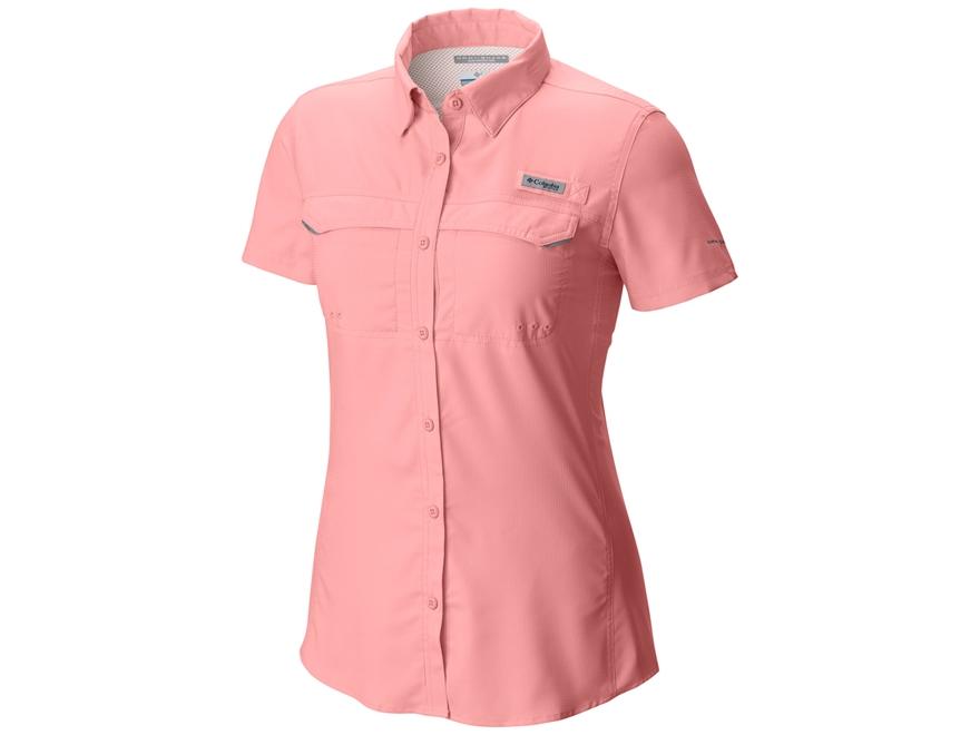Columbia Women's Lo Drag Shirt Short Sleeve Polyester