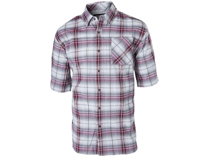 BLACKHAWK! Men's 1700 Button-Up Shirt Short Sleeve Cotton/Polyester/Lycra