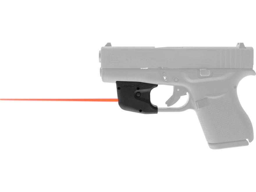 LaserLyte TGL Red Laser Sight Glock 42, 43, 26, 27 Matte