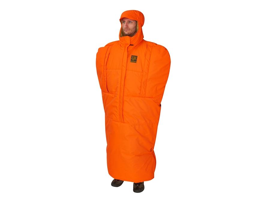 SJK Insulated Thermal Cloak Polyester Blaze Orange