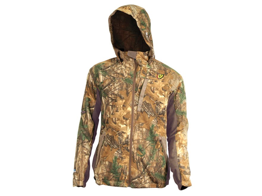 ScentBlocker Men's ProTec HD Fleece Jacket Polyester Realtree Xtra Camo