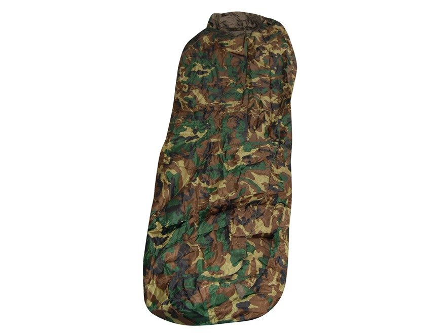 "Snugpak Sleeper Xtreme 11 Degree Mummy Style Sleeping Bag 30"" x 86"" Nylon Woodland Camo"