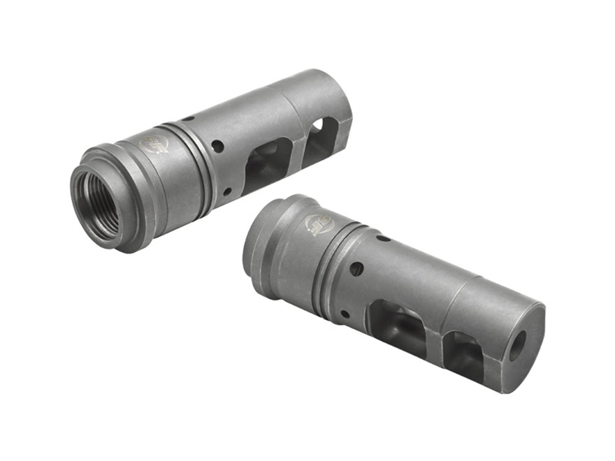 "Surefire SOCOM Muzzle Brake Suppressor Adapter AR-15 6.8mm Remington SPC 5/8""-24 Thread..."