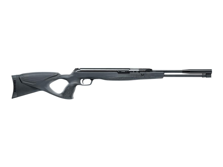 Walther LGU Varmint Underlever Air Rifle 22 Caliber Pellet Black Synthetic Stock