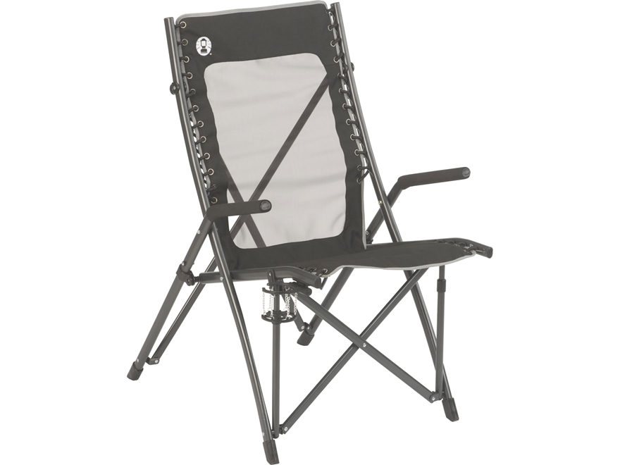 Coleman ComfortSmart Suspension Camp Chair Polyester and Steel Black