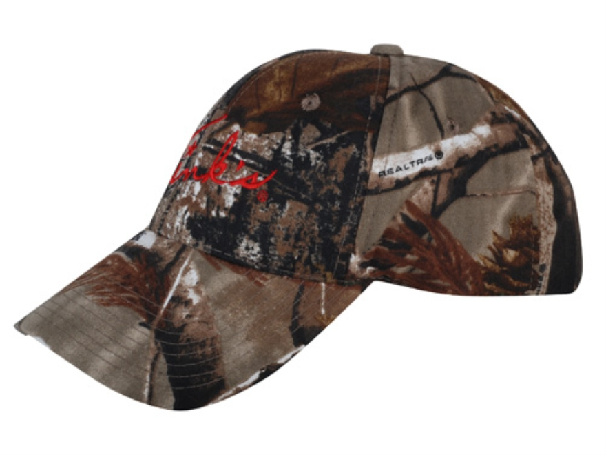 Tink's Embroidered Logo Camo Cap Cotton Realtree AP Camo