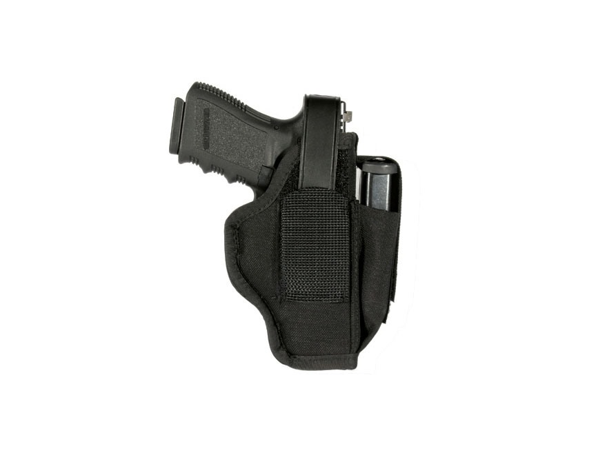 BLACKHAWK! Ambidextrous Multi-Use Holster Small Double Action 5-Round Revolver with Exp...