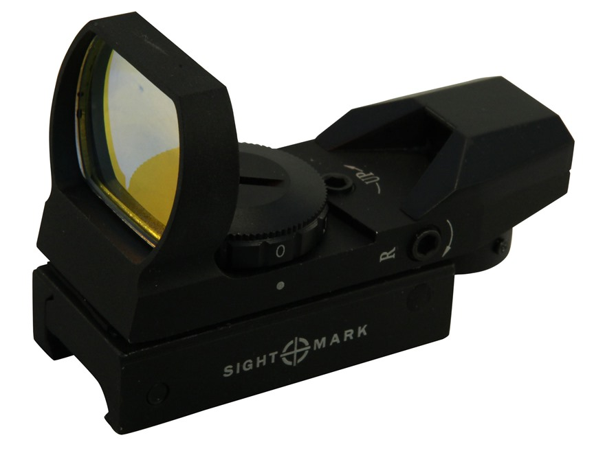 Sightmark Sure Shot Reflex Red Dot Sight 30mm Tube 1x 4 Pattern (Dot, Cross, Cross-Circ...