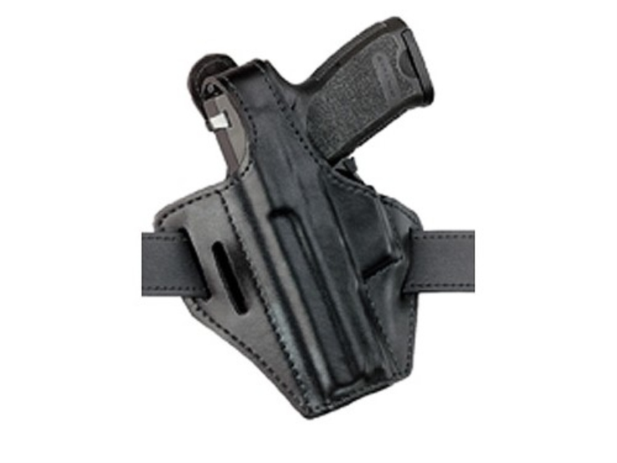 Safariland 328 Belt Holster Left Hand Glock 19, 23, 26, 27 Laminate Black