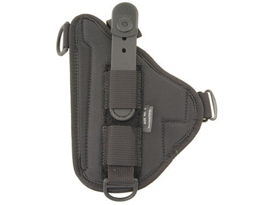 Bianchi 4620H Tuxedo Holster Suede Lined Trilaminate Black